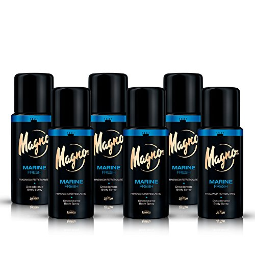 Magno - Desodorante Marine - 150ml (pack de 6) Total: 900ml
