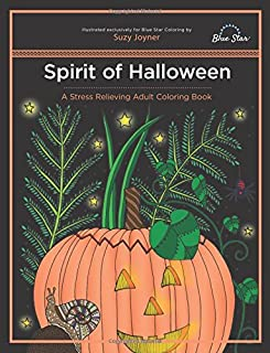 Spirit of Halloween: A Stress Relieving Adult Coloring Book
