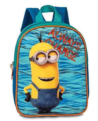 Minions Kinderrucksack Tasche Rucksack für Kindergarten/Vorschule - Gurte verstellbar & gepolstert Always Charge Minion