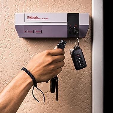 Keytendo video game console key holder rack