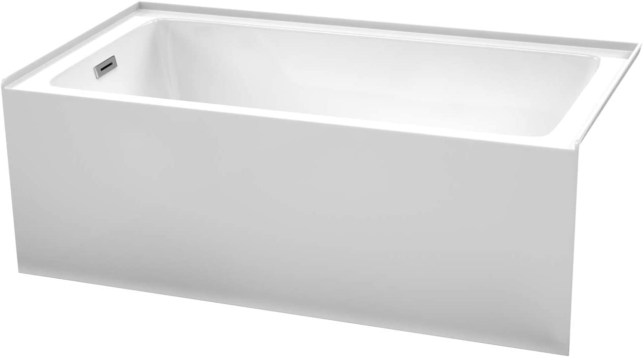 Grayley 60 Free Shipping New x 32 Inch Alcove Drai Left-Hand Bombing free shipping White in with Bathtub