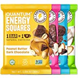 Best Energy Bars - QUANTUM   Energy Squares   Organic Caffeinated Energy Review