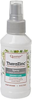 Quantum Health, TheraZinc Spray, 4 Ounces (Pack of 3)