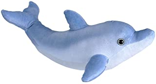 "Wild Republic Bottlenose Dolphin Plush, Stuffed Animal, Plush Toy, Gifts for Kids, Living Ocean, 12"""