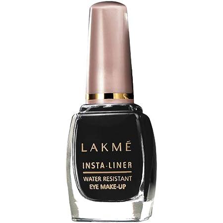 Lakmé Insta Eye Liner, Black, Water Resistant, Long-Lasting, 9 ml