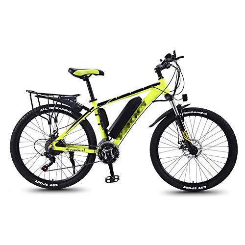 TANCEQI Bicicleta Eléctrica para Hombres, 26 Pulgadas, Bicicleta De Trekking Y Ciudad...
