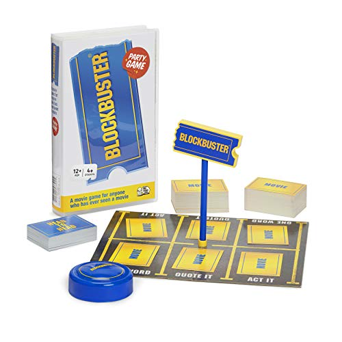 The Blockbuster Game: The Movie Board Game For Adults And Teenagers