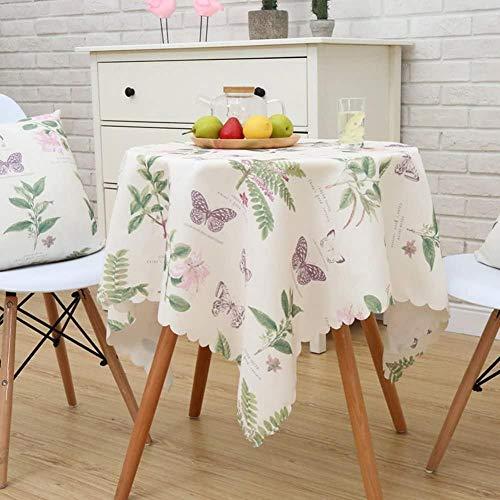 Yooepd - Mantel rectangular de macramé pastoral a prueba de aceite, a prueba de encogimiento, a prueba de polvo, para decoración de mesa de comedor de cocina, 90 x 150 cm