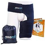 Hip Brace-Groin Wrap for Sciatica Pain Relief Thigh Hamstring Compression Sleeve - Unique Quadriceps...