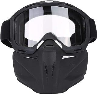 d1e36c41de Máscara de Ciclismo Gafas de Motocicleta Motocross Mascarilla Facial A  Prueba de Viento Gafas de Motocross