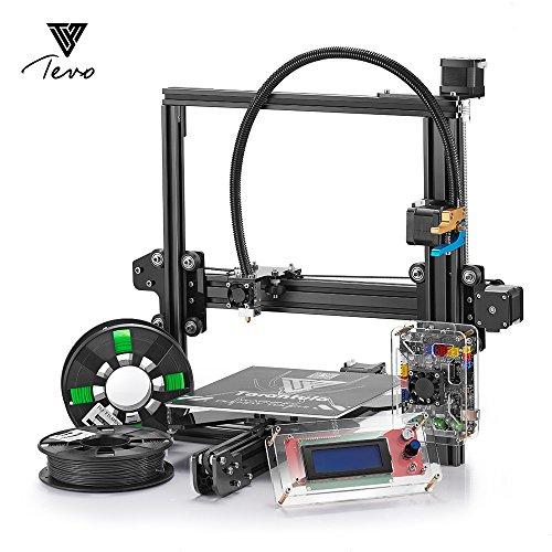 Tevo Tarantula i3Kit d'imprimante 3D à extrusion d'aluminium + paquet multifonction + 2rouleaux de filaments d'impression 3D et 8Go LCD, 1
