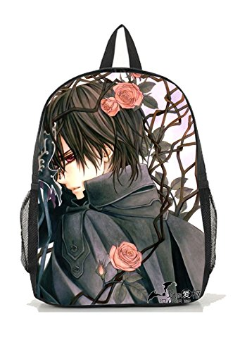 Dreamcosplay Anime Vampire Knight Kuran Kaname Logo Backpack Bag Cosplay