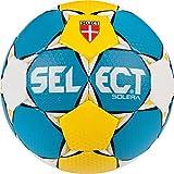 SELECT Solera Ballon de Handball 2 Bleu/Jaune/Blanc