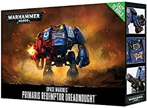 Easy-To-Build Space Marines Primaris Redemptor Dreadnought Warhammer 40000