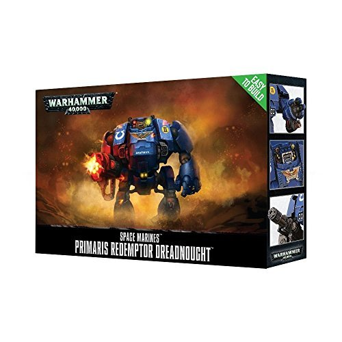 Games Workshop Warhammer 40,000 Easy to Build Primaris Redemptor Dreadnought