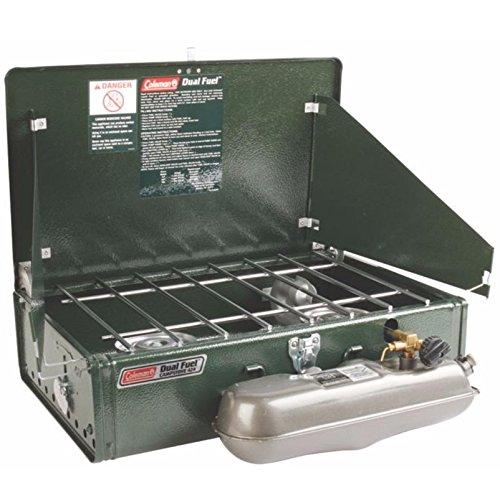Product Image 2: Coleman 2 Burner Dual Fuel Compact Liquid Fuel Stove