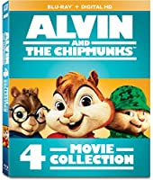 Alvin & the Chipmunks 4-Movie Collection [Blu-ray] [Import]