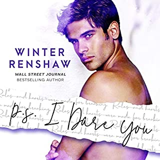 P.S. I Dare You     PS Series, Book 3              Auteur(s):                                                                                                                                 Winter Renshaw                               Narrateur(s):                                                                                                                                 Benjamin James                      Durée: 5 h et 12 min     Pas de évaluations     Au global 0,0