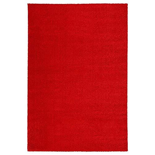 MBI Tapis Rouge à Poils Courts - Dimensions assemblé : Longueur : 195 cm, Largeur : 133 cm, épaisseur : 13 mm.