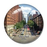 アメリカアメリカハイラインニューヨーク冷蔵庫マグネットホワイトボードマグネットオフィスキッチンデコレーション