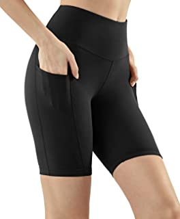Tesla Women's Active Bike Running Yoga Shorts Side/Hidden Pocket Series