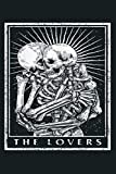The Lovers Tarot Card Occult Goth: Notebook Planner - 6x9 inch Daily Planner Journal, To Do List Notebook, Daily Organizer, 114 Pages