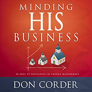 Minding His Business audiobook cover art