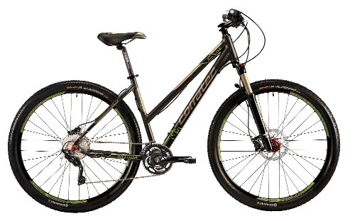 Corratec Damen Fahrrad C29 M Cross 01, Anthrzit Grün Matt, 48, BK17124-0048