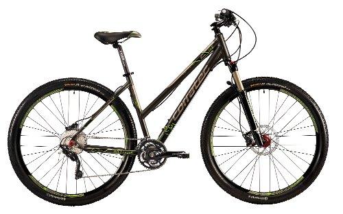 Corratec Damen Fahrrad C29 M Cross 01, Anthrzit Grün Matt, 48, BK17124-0048