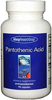 Allergy Research Group - Pantothenic Acid 500 mg 90 caps