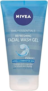 Nivea Visage Daily Essentials Refreshing Facial Wash Gel - Normal & Combination Skin (150ml)