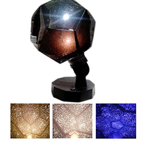 lzn 3 Farben Sternenhimmel Projektor, Romantische Projektor lampe, LED Star Projektor für Haus, Schlafzimmer, Kinder Zimmer, Hochzeit, Geburtstag, Parteien