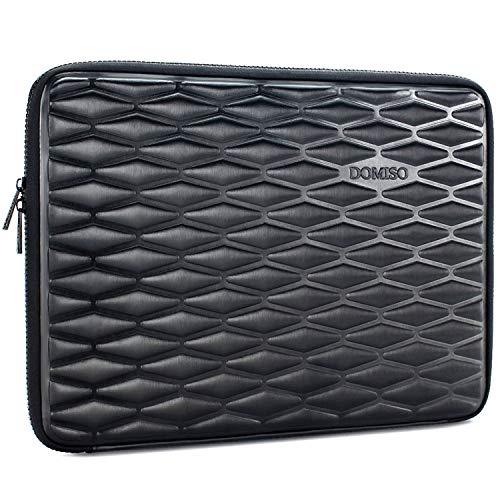 DOMISO 14 Inch Shockproof Waterproof Laptop Sleeve Lightweight Soft EVA Tablet Case for 14' Laptops / Chromebook / Apple / Lenovo ThinkPad / HP Pavilion 14 Stream 14 / Dell / ASUS , Black