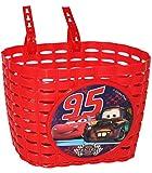 alles-meine.de GmbH Fahrradkorb / Korb - Disney Cars Lightning McQueen mit Befestigung den Lenker vorn - Fahrrad Car Auto Mc Queen Autos Jungen - auch für Roller und Dreiräder / ..