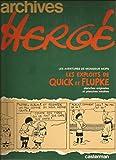 Archives Hergé, Tome 2 - Cet aimable M. Mops. (suivi de) Les Exploits de Quick et Flupke : Planches originales et planches inédites