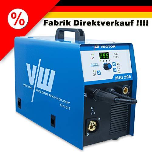 Schweißgerät MIG295 Schutzgas MIG/MAG/WIG/MMA Welder 15KG Schweissgerät Fabrik Direktverkauf 5.J Garantie