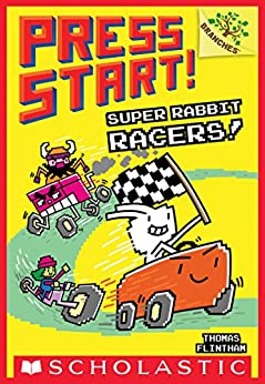 Super Rabbit Racers!: A Branches Book (Press Start! #3) by [Thomas Flintham]