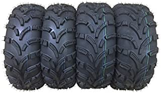 Set of 4 New WANDA ATV/UTV Tires 25x8-12 Front & 25x10-12 Rear /6PR P373-10243/10244 …