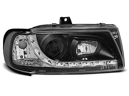 Koplampen Seat Ibiza Cordoba 93-99 Daylight LED zwart (E14)