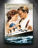 Titanic - Kate Winslet & Leonardo Dicaprio Fotoposter –