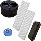 HQRP Filter Kit compatible with Bissell CleanView Helix Vacuum 95P1, 82H1, 82H1H, 82H1M, 82H1R, 82H1T Cleaner