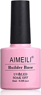AIMEILI Builder Base Gel Quick Extension Nail Enhancement Reinforce Lacquer Soak Off UV LED Gel Nail Polish