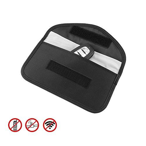 OurLeeme Signal Blocking Pouch Bag Wallet Case Anti-Theft-Faraday-Tasche für ID-Karte Bank Card...