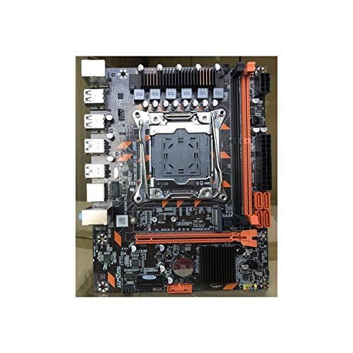 Tablero de reemplazo de computadora Micro ATX MAPINARDO Fit For ATERMITER MINI X99 DDR4 PC4 LGA2011-3 USB 3.0 NVME M.2 SSD Support Reg Memoria ECC XEON E5 V3 Procesador PC Gaming Placa base de computa