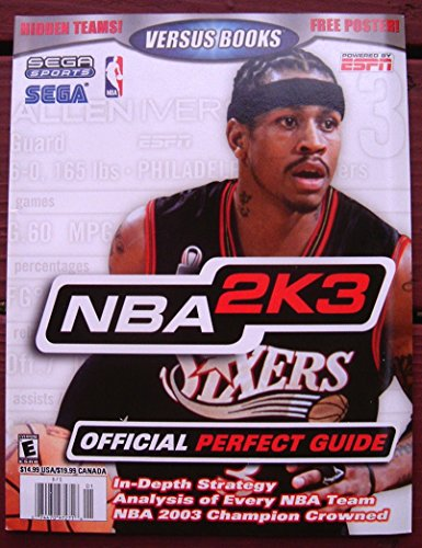 Versus Books Official Perfect Guide for NBA 2K3