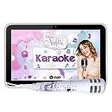 Ingo INU019D - Tableta Infantil de 7'(cámara de 2 MP, procesador de 1.2 GHz, 4 GB, 1 GB RAM, Sistema operativo Android, micrófono Karaoke), diseño Violetta