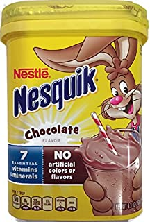 NesQuik Chocolate Drink Mix Powder, 9.3 Oz (Pack of 2)