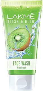 Lakme Blush and Glow Kiwi Freshness Gel Face Wash with Kiwi Extracts, 100 g