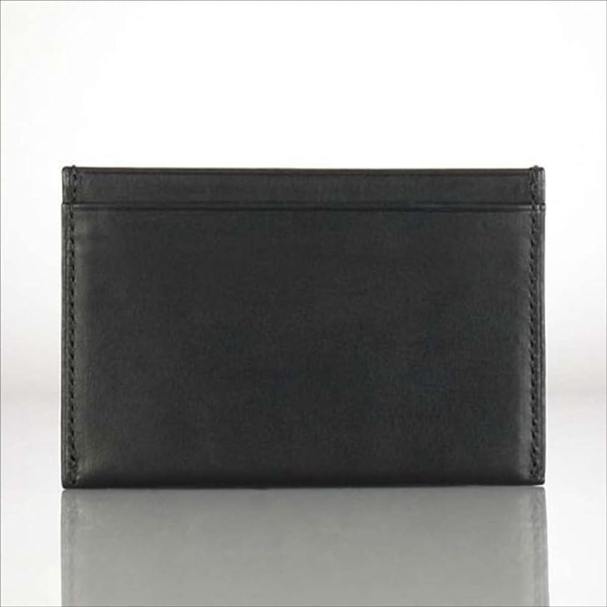 通貨踏みつけ証言する[ポロ ラルフローレン] POLO RALPH LAUREN 正規品 カードケース TARTAN-LINED CARD CASE ブラック 並行輸入品 (コード:4024770513)