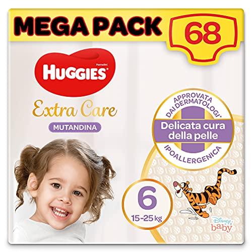 Huggies Extra Care Windelhöschen, Größe 6 (15-25 kg), 68 Stück